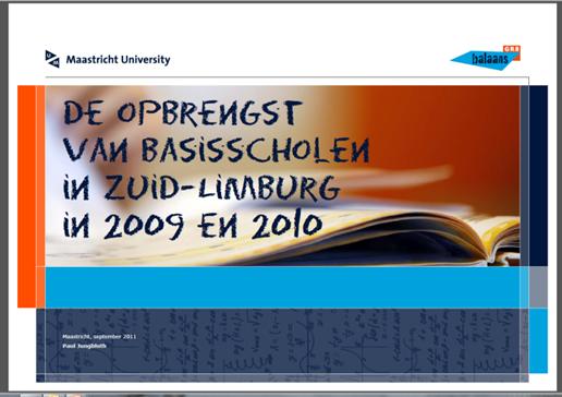 16B opbrengst2010